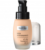 Тональный крем High Performance All-day Foundation, IsaDora